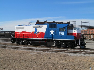 AlphaGraphics Seattle Wide-Format Printing Case Study - Texas Rail Locomotive Vehicle Decal Project