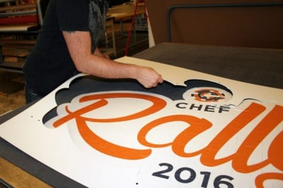 Large Puzzle Printing Project - CHEF