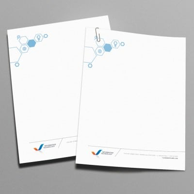 Letterhead Printing Examples