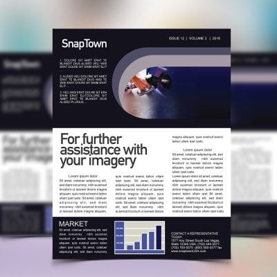 Newsletters Example - Complete Print Solutions with AlphaGraphics Seattle