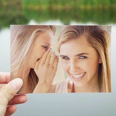 Photo Prints Example - Girls sharing secret
