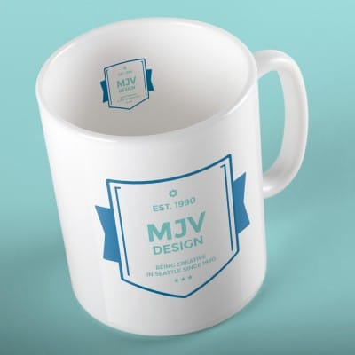 Promotional Items Example - Mug from MJV Design