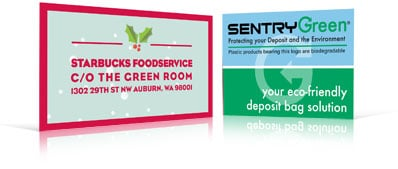 Starbucks and Sentry Green Labels