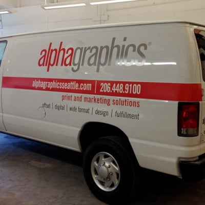 Vehicle Wrap Printing & Signs