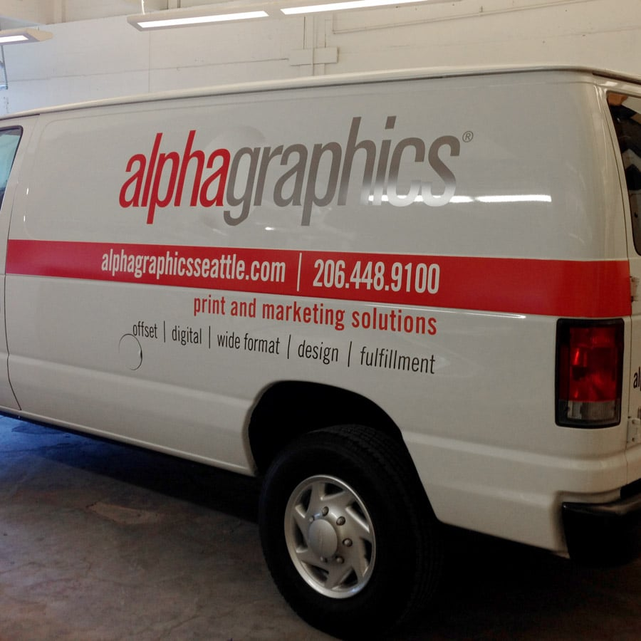 Vehicle Wrap Printing & Signs