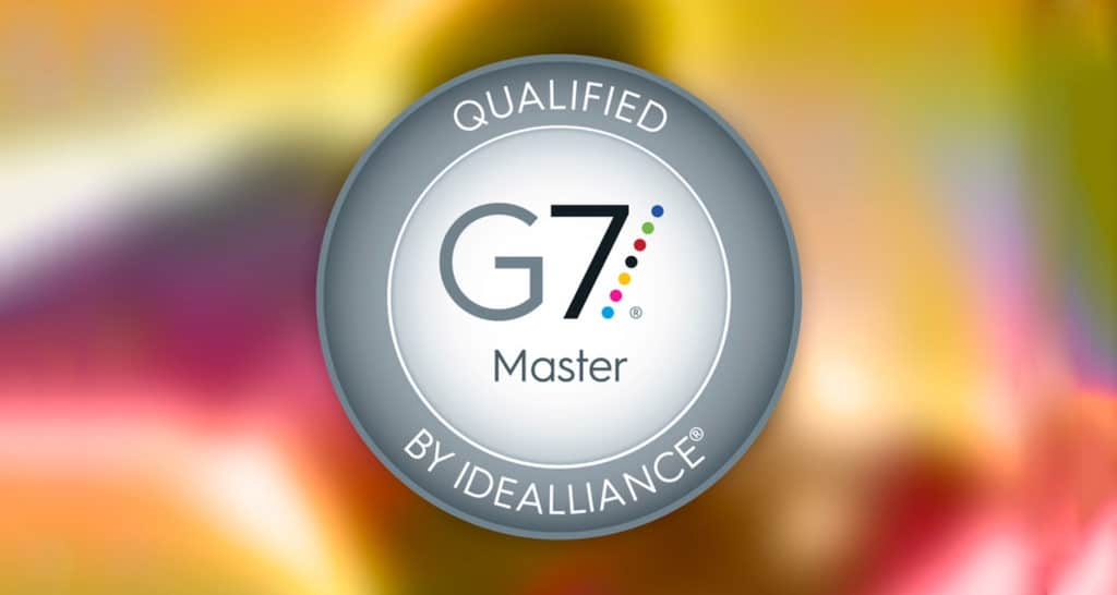 Color Management - Qualified G7 Master by Idealliance