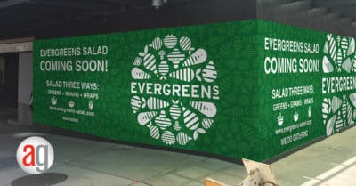 Large Wall Graphic Printing and Installation - Partner Project with Blackrock Industries