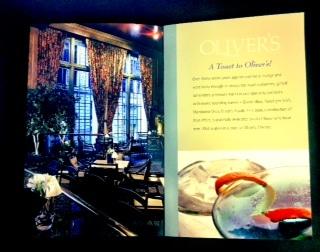 Oliver's Lounge Booklet Printing