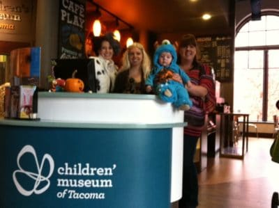 Giving Back - Children's Museum of Tacoma