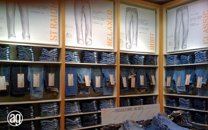 fabric retail signage