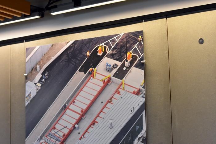 AlphaGraphics Seattle Gatorform board panels graphics
