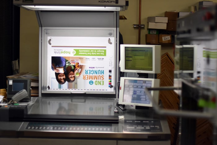 AlphaGraphics Seattle Printing Posters Hopelink Food Drive