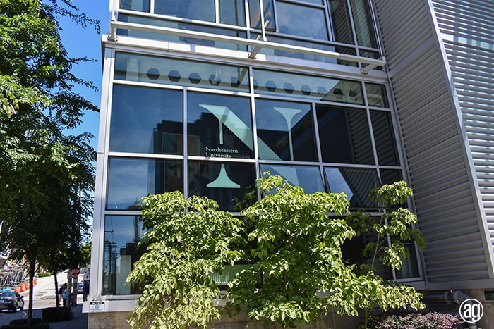 Northeastern University Seattle Campus Graphics